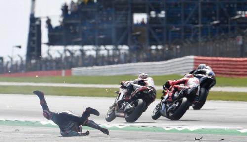 Foto Quartararo Sebut Alex Rins yang Menyebabkan Kecelakaan