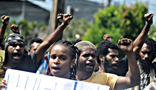 Foto Makar Lagi, Makar Lagi...Delapan Orang Papua Jadi Tersangka