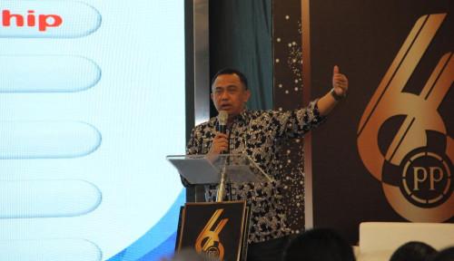 Foto Mantap! PTPP Raih Gelar Industry Leader