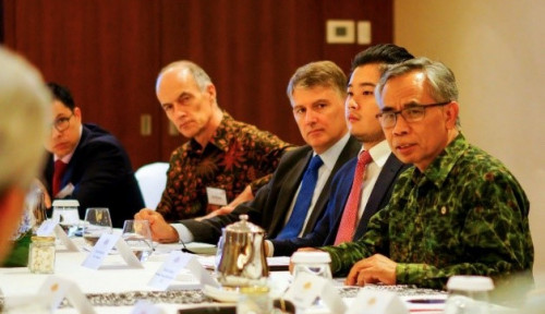 Foto Investasi Sektor Jasa Keuangan Indonesia Dilirik Investor Inggris