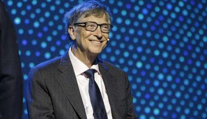 Amalkan Harta Rp490 Triliun, Bill Gates Semakin Kaya Raya... - Warta Ekonomi