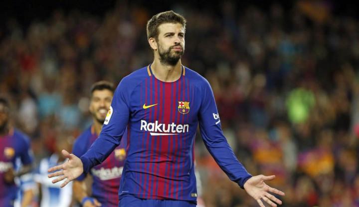 Barcelona Terus Istimewakan Messi, Pique Bereaksi Gini - Warta Ekonomi
