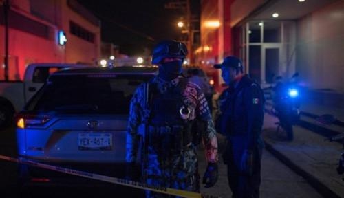 Foto Bar di Meksiko Terbakar, 23 Orang Tewas Ditempat