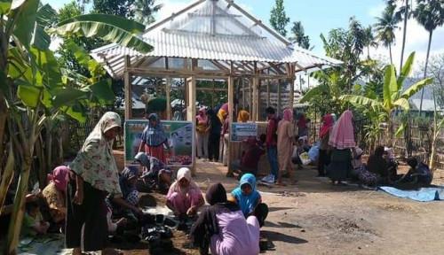 Foto Program KRPL Kementan Sasar Kabupaten Bima, Penyuluh Terjun Bina Kelompok Wanita Tani