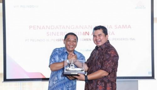 Foto Pelindo III Duet Sama Semen Indonesia di Bidang Ini