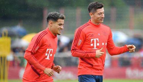 Foto Diperkuat Coutinho, Klopp Yakin Bayern Bisa Rebut Juara Liga Jerman