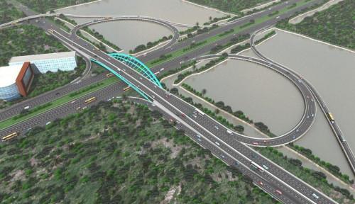 Foto Tingkatkan Aksesbilitas, AP II Bangun Jembatan Baru di Bandara Soetta