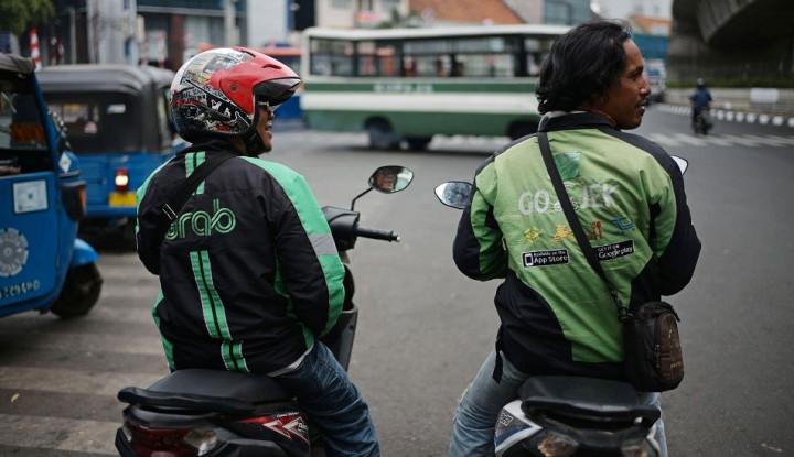 Demo Driver Ojol, Grab PHK Sepihak Saja? - Warta Ekonomi