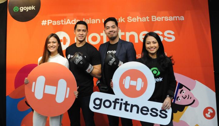 Gojek Kolaborasi dengan DOOgether Luncurkan Layanan GoFitnes - Warta Ekonomi