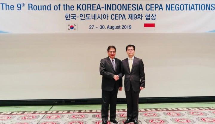 Indonesia-Korea Selatan Percepat Penyelesaian Perundingan CEPA - Warta Ekonomi