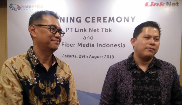 Tingkatan Layanan, Link Net Jalin Kerja Sama dengan Fiber Media Indonesia - Warta Ekonomi