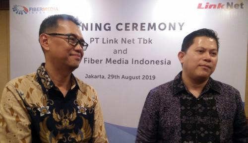 Foto Tingkatan Layanan, Link Net Jalin Kerja Sama dengan Fiber Media Indonesia