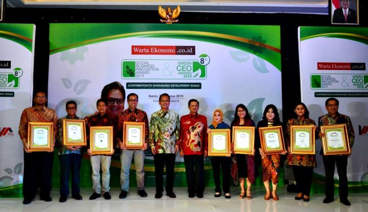 Inilah Para Pemenang SBI Award 2019 - Warta Ekonomi