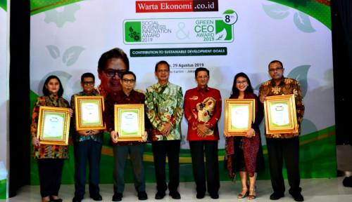 Foto Inilah Para Pemenang Green CEO Award 2019