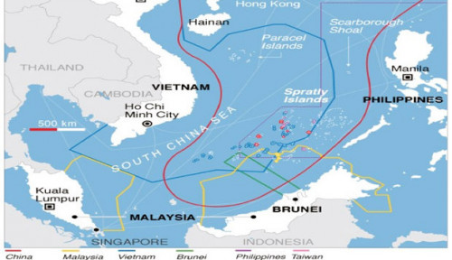 Ketika Pertarungan di Laut China Selatan Hanya Setengah Hati