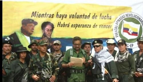 Foto Ingkari Perjanjian Damai, Kelompok Pemberontak Kolombia Nyatakan Perang