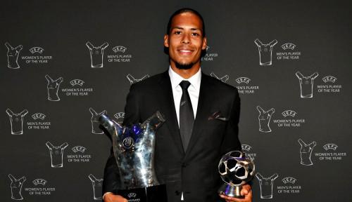 Soal Pemain Terbaik Eropa, Nedved: Mestinya Ronaldo Bukan van Dijk
