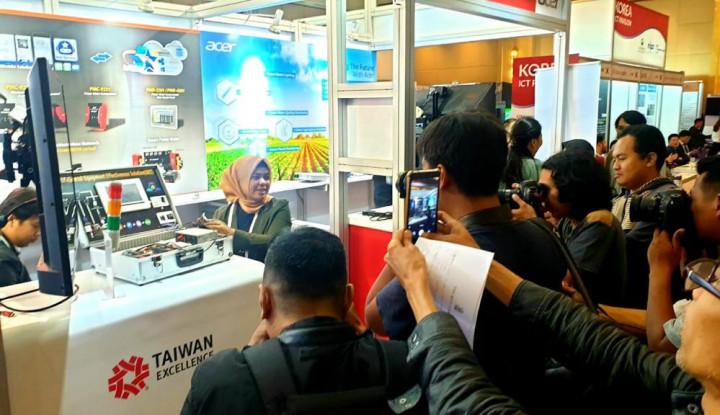 Perusahaan Asal Taiwan Bawa Teknologi Smart Manufacturing di AIBP - Warta Ekonomi