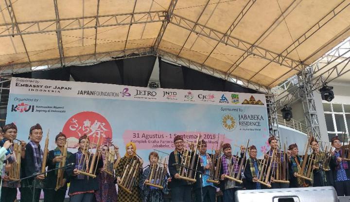 Jababeka dan KAJI Gelar Festival Sakura Matsuri