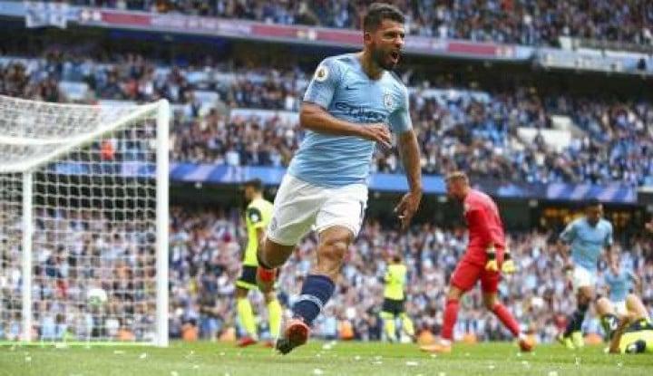 Top! Guardiola: Aguero Terlahir untuk Mencetak Gol - Warta Ekonomi