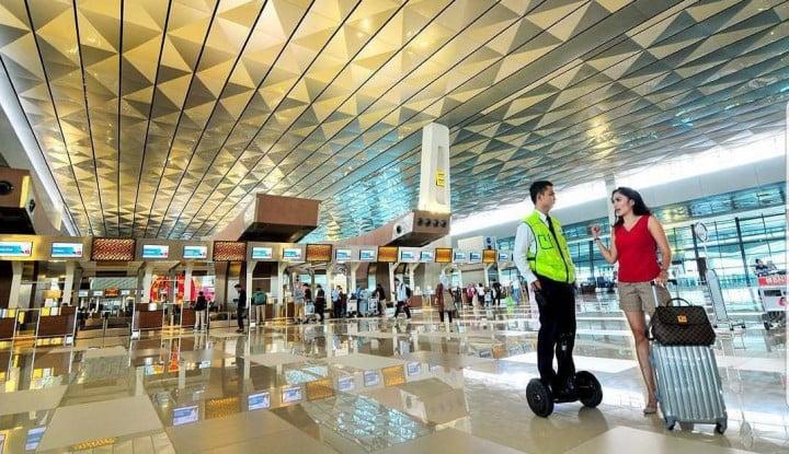 AP II Bantah Ada Pergantian Nama Terminal di Soetta - Warta Ekonomi
