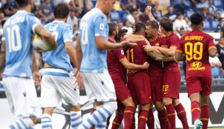 Lazio dan AS Roma Main Imbang 1-1 - Warta Ekonomi