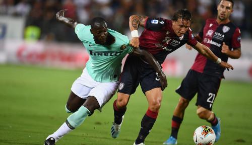 Foto Romelu Lukaku Jadi Pahlawan Kemenangan Inter Milan atas Cagliari