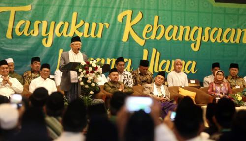 Foto Ma'ruf Amin Bakal Genjot Ekonomi Syariah