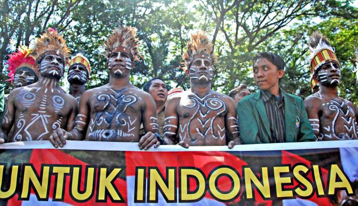 We Love Papua Menggaung di Jawa Tengah: Papua Adalah Indonesia - Warta Ekonomi