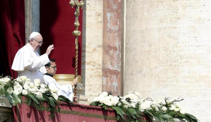 Paus Fransiskus Ambil Keputusan yang Belum Pernah Terjadi dalam Pekan Suci - Warta Ekonomi