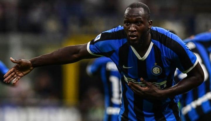 Jengkel, Ini Kritik Lukaku untuk Lini Pertahanan Inter Milan