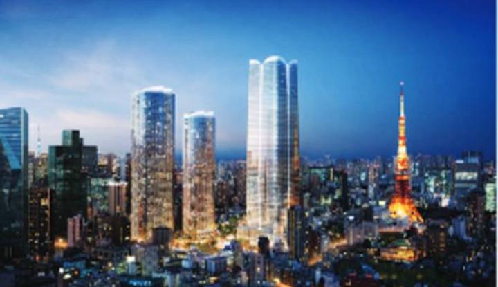 Tokyo Bakal Punya Gedung Tertinggi dengan 64 Lantai - Warta Ekonomi