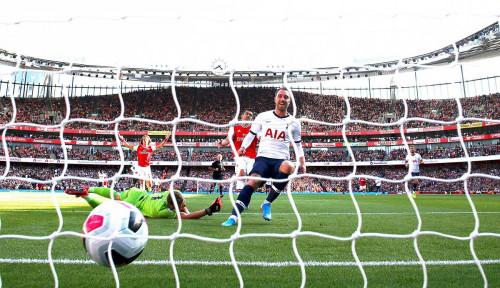 Foto Arsenal Ditahan Imbang Hotspurs 2-2, Ada Drama VAR