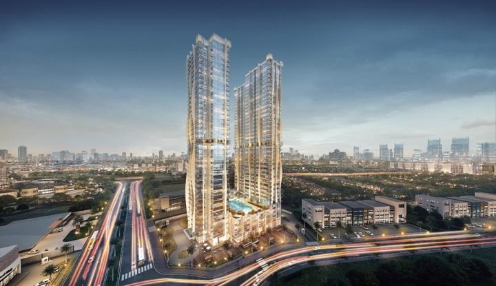 Dibuka di Alam Sutera, Intip Megahnya Sales Gallery The Burj Apartment - Warta Ekonomi