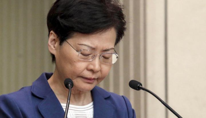 Carrie Lam: Informasi Pengunduran Diri Saya ke Beijing Bohong! - Warta Ekonomi