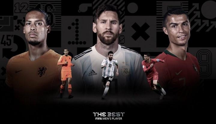 Jadwal Lengkap Pengumuman Pemain Terbaik FIFA 2019