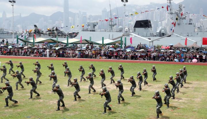 China Tak Mau Ikut Campur dengan Kirim Pasukan Militer ke Hong Kong, Alasannya. . . - Warta Ekonomi