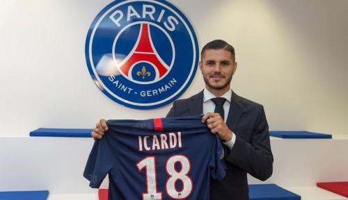 Foto Sebelum Gabung PSG, Mauro Icardi Hampir Merapat ke Klub Ini