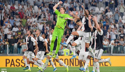 Foto Widih! Tim Garuda Select Tonton Langsung Laga Juventus vs Udinese