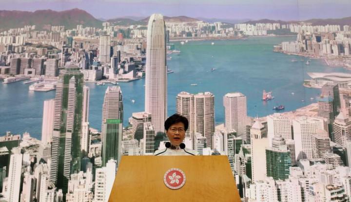 Demonstrasi Bekepanjangan, China Segera Copot Pimpinan Hong Kong Carrie Lam? - Warta Ekonomi