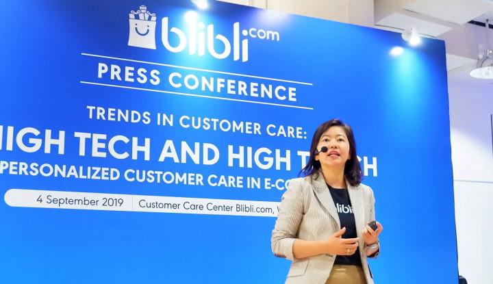 Cara Blibli Puaskan Pelanggan, Gabungkan Sentuhan Manusia dan Teknologi AI - Warta Ekonomi