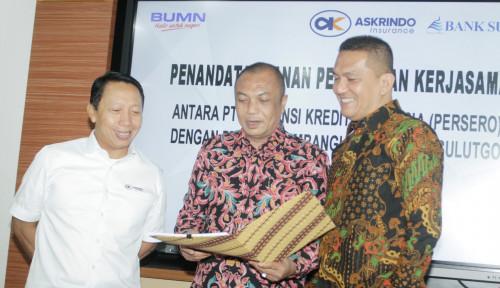 Foto Askrindo dan Bank SulutGo Teken Kerja Sama Baru