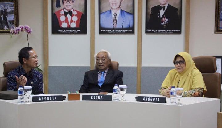 Tingkatkan Pemahaman Arbitrase, Calon Hakim MA Kunjungan ke BANI - Warta Ekonomi