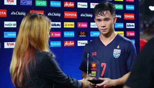 Foto Usai Gagal Raih Kemenangan, Gelandang Thailand Optimis Raih Kemenangan di GBK