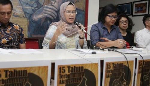 Foto 5 Tahun Jokowi Berkuasa, Kasus Munir Malah Mundur?