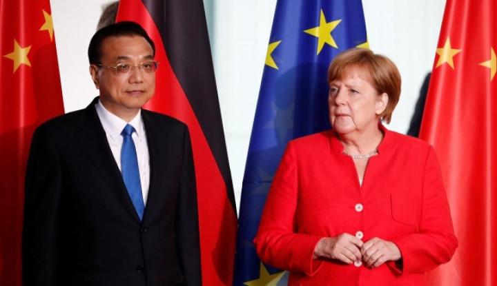 Berbeda dengan PM China, Kanselir Jerman Bilang Kebebasan Hong Kong Harus Dijamin - Warta Ekonomi