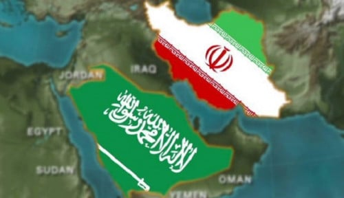 Foto Buntut Serangan Kilang Minyak Saudi, Iran 'Diancam' Negeri Paman Sam, Duh Ngeri!