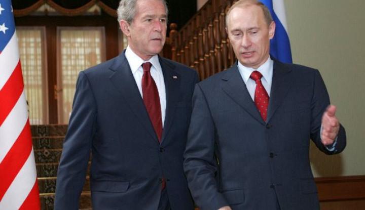 2 Hari Sebelum Peristiwa 9/11, Putin Ternyata Pernah Telpon Bush, Bilang. . .