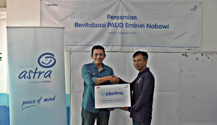 Asuransi Astra Revitalisasi PAUD Embun Nabawi di Jakarta - Warta Ekonomi