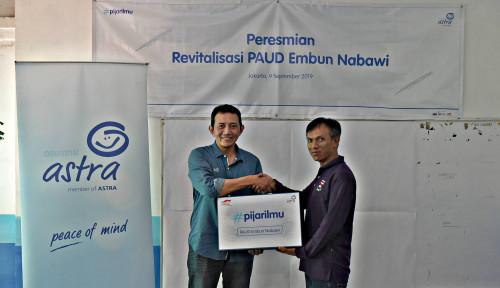 Foto Asuransi Astra Revitalisasi PAUD Embun Nabawi di Jakarta